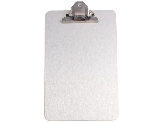 CLIPBOARD BRUSHED ALUM ACP 355*230mm A4 - Bigoffice.co.za