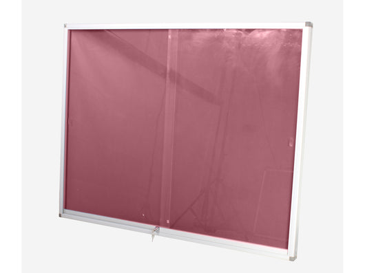 DISPLAY CASE PINNING BOARD 1200*900MM BURGUNDY - Bigoffice.co.za