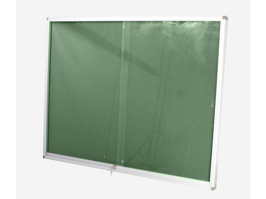 DISPLAY CASE PINNING BOARD 1500*1200MM GREEN - Bigoffice.co.za