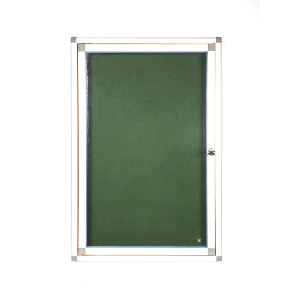 DISPLAY CASE PINNING HINGE 900*600MM GREEN - Bigoffice.co.za