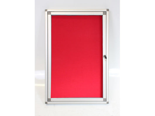 DISPLAY CASE PINNING HINGE 900*600MM RED - Bigoffice.co.za