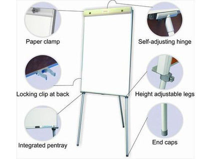 FLIPCHART NON MAGNETIC STANDARD 1000*640MM - Bigoffice.co.za