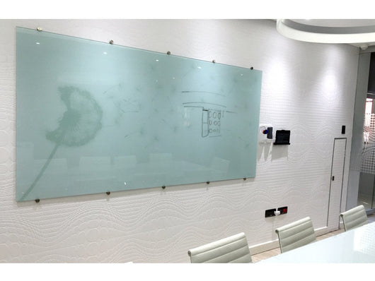 GLASS WHITEBOARD NON-MAGNETIC PRINTED 1500*1200MM - Bigoffice.co.za