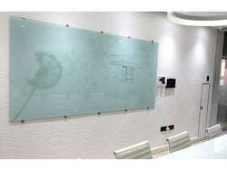 GLASS WHITEBOARD NON-MAGNETIC PRINTED 2400*1200MM - Bigoffice.co.za