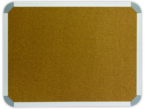 INFO BOARD ALUMINIUM FRAME 1000 * 1000MM CORK - Bigoffice.co.za