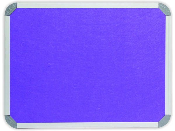 INFO BOARD ALUMINIUM FRAME 1200*1200MM PURPLE - Bigoffice.co.za