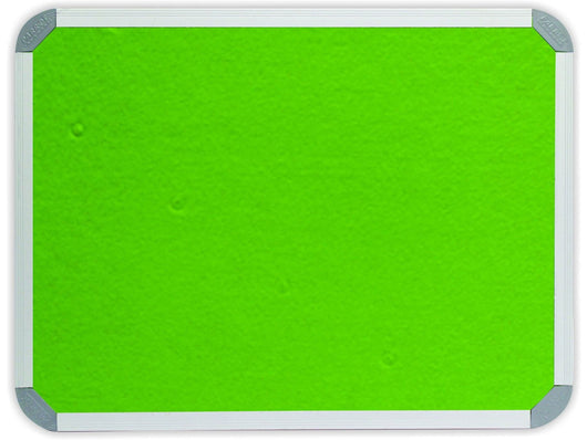 INFO BOARD ALUMINIUM FRAME 1500 * 1200MM LIME GREEN - Bigoffice.co.za