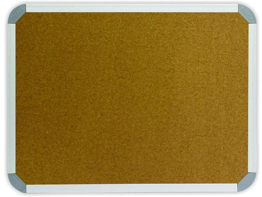 INFO BOARD ALUMINIUM FRAME 1500*900MM CORK - Bigoffice.co.za