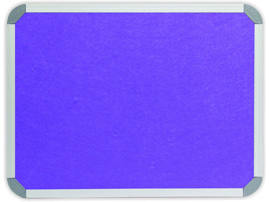 INFO BOARD ALUMINIUM FRAME 1800*900MM PURPLE - Bigoffice.co.za