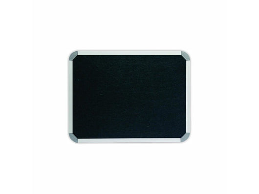 INFO BOARD ALUMINIUM FRAME 600*450MM BLACK - Bigoffice.co.za