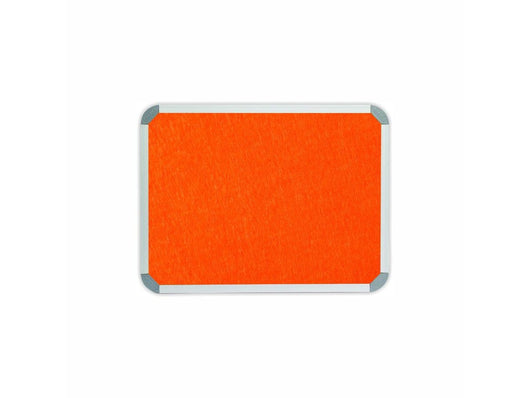 INFO BOARD ALUMINIUM FRAME 600*450MM ORANGE - Bigoffice.co.za