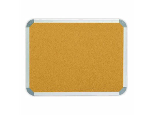 INFO BOARD ALUMINIUM FRAME 900*600MM BEIGE - Bigoffice.co.za