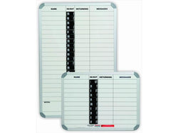 IN/OUT BOARD MAGNETIC 10 PEOPLE 600*450MM - Bigoffice.co.za