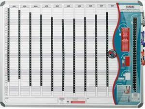 YEAR PLANNER MAGNETIC 2400*1200mm - Bigoffice.co.za