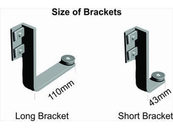 EASY RAIL MOUNTING BRACKET SET SHORT - Bigoffice.co.za