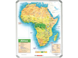 MAP - AFRICA GENERAL EDUCATIONAL 1500x1200mm - Bigoffice.co.za