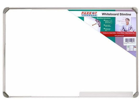 WHITEBOARD SLIMLINE NON MAGNETIC 900*900MM - Bigoffice.co.za