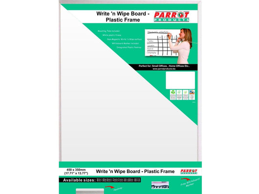 WRITE N WIPE PLASTIC FRAME 450*350MM - Bigoffice.co.za