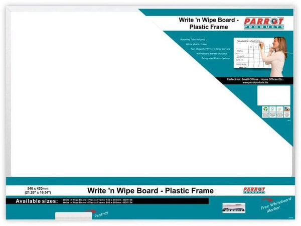 WRITE N WIPE PLASTIC FRAME 540*420MM - Bigoffice.co.za