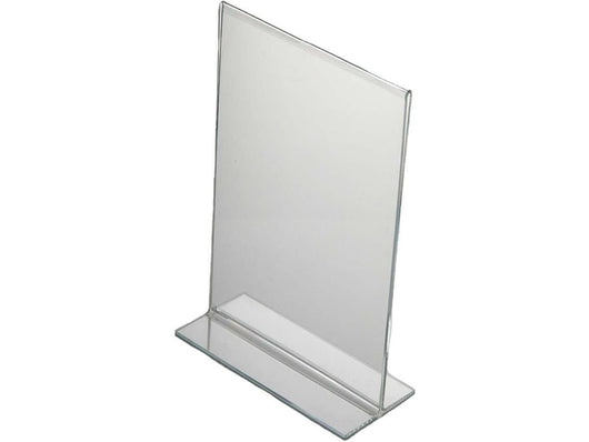 ACRYLIC MENU HOLDER DOUBLE SIDED A6 - PORTRAIT - Bigoffice.co.za