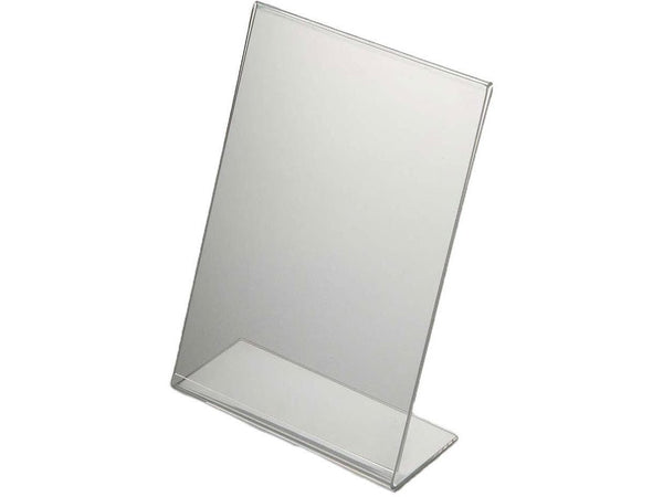 ACRYLIC MENU HOLDER SINGLE SIDED A4 - PORTRAIT - Bigoffice.co.za