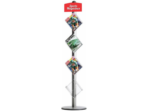 Novel Free Standing Brochure Holder - Bigoffice.co.za