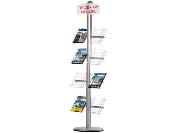 Novel Free Standing Side Mounted Brochure Holder - Bigoffice.co.za