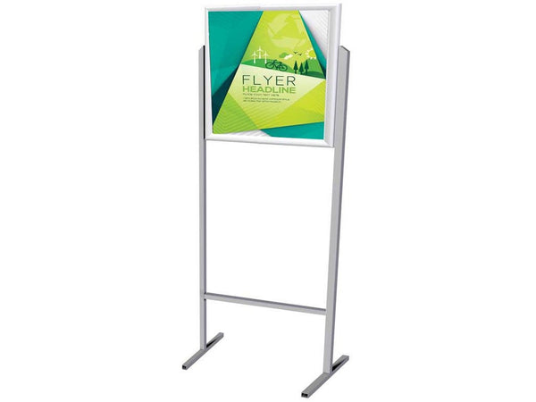 STAND POSTER FRAME DOUBLE SIDED A2 LANDSCAPE - Bigoffice.co.za