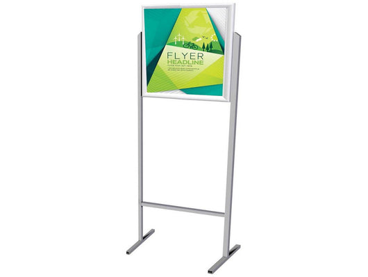 STAND POSTER FRAME DOUBLE SIDED A3 LANDSCAPE - Bigoffice.co.za