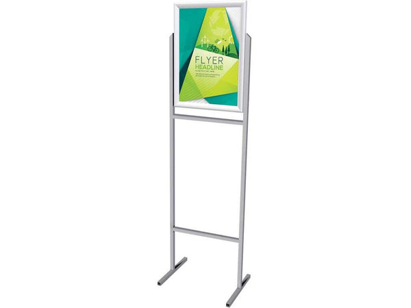 STAND POSTER FRAME STEEL DOUBLE SIDED A2 - Bigoffice.co.za