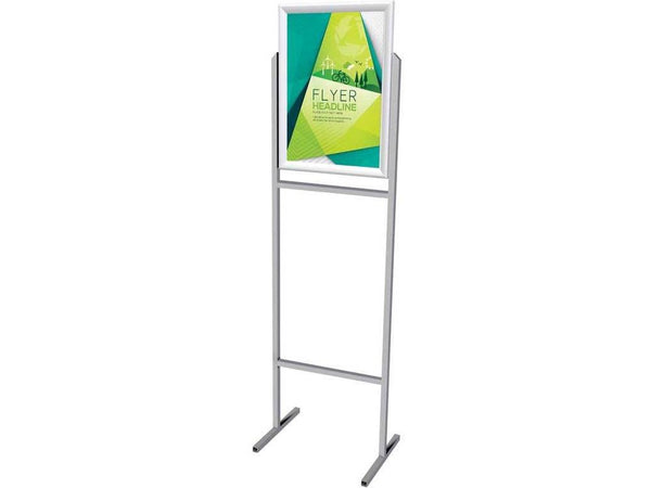 STAND POSTER FRAME STEEL DOUBLE SIDED A3 - Bigoffice.co.za