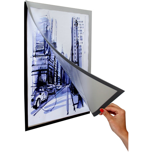 POSTER FRAME A4 320*230MM MAGNETIC S/ADHESIVE - Bigoffice.co.za