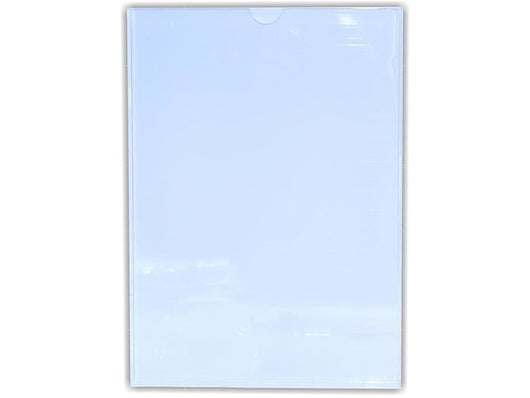 PERSPEX POCKET CLEAR / WHITE BACKING A4 - Bigoffice.co.za