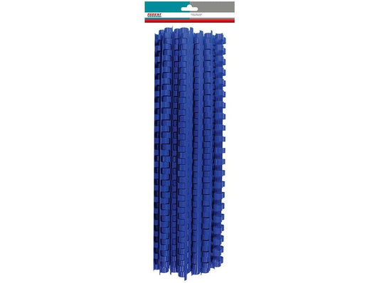 BINDER COMB ELEMENT PLASTIC 30 SHT 6MM BLUE (25) - Bigoffice.co.za