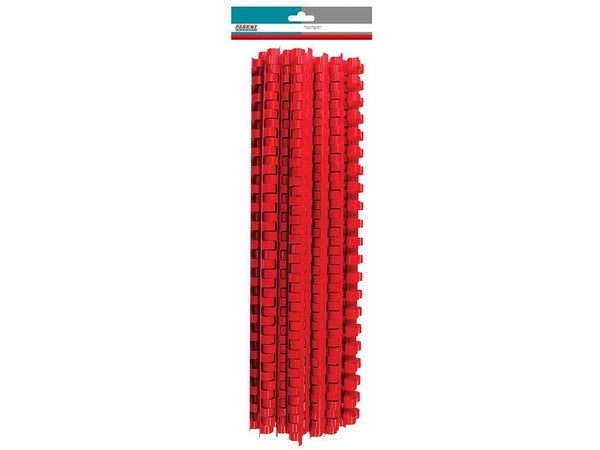 BINDER COMB ELEMENT PLASTIC 30 SHT 6MM RED (25) - Bigoffice.co.za