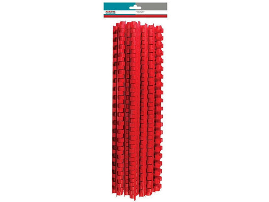 BINDER COMB ELEMENT PLASTIC 350 SHT 45MM RED (25) - Bigoffice.co.za