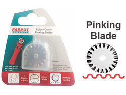CRAFT KNIFE ROTARY BLADES 28mm PINKING - Bigoffice.co.za