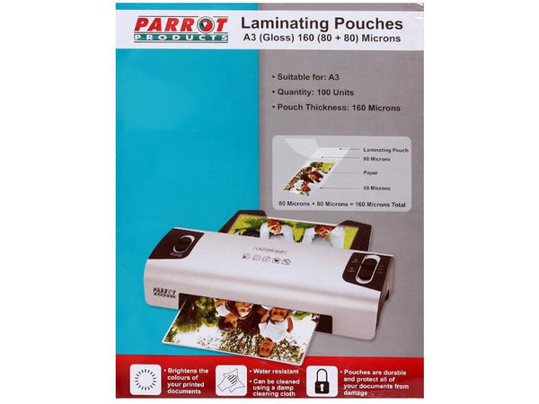 LAMINATING POUCH A3 305X426 160(80+80) MIC BOX 100 - Bigoffice.co.za