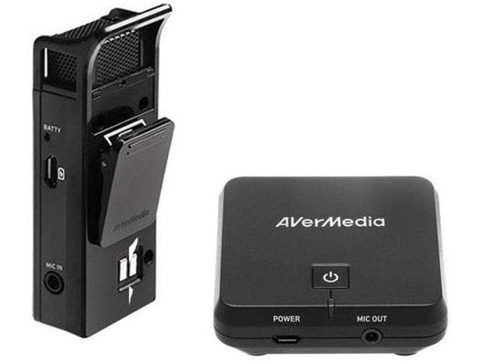 AUDIO - AVERMEDIA WIRELESS MICROPHONE AND RECEIVER - Bigoffice.co.za