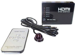 ADAPTOR - HDMI SWITCH 5 TO 1 - Bigoffice.co.za