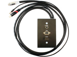 ADAPTOR - WALL BOX 15 PIN MALE TO FEMALE VGA CABLE 1M/AUDIO/HDMI - Bigoffice.co.za