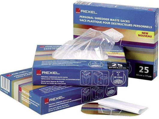 Shred Bags Litre Pack of 25 - Bigoffice.co.za