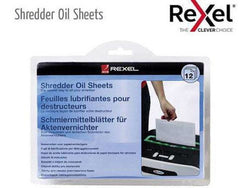 Shred Oil Sheets Pack of 12 - Bigoffice.co.za