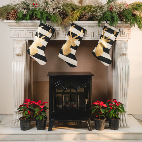 Prancer Christmas Stockings