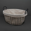 Biancheria Wire Basket