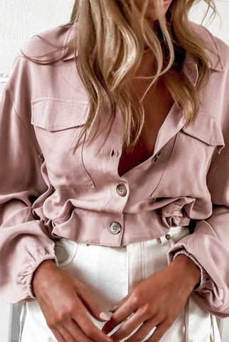 Dusty pink crop