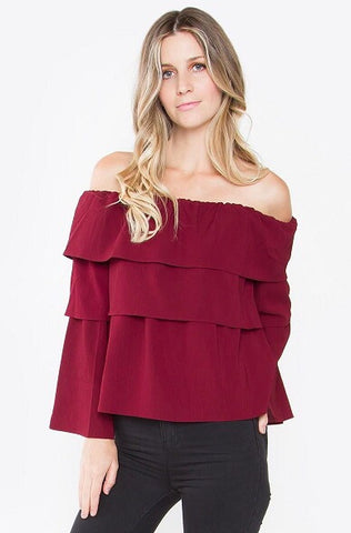 Sonja off shoulder