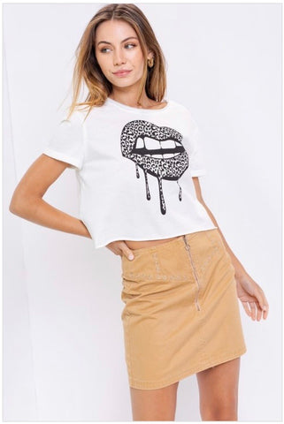 Lips Graphic Tee