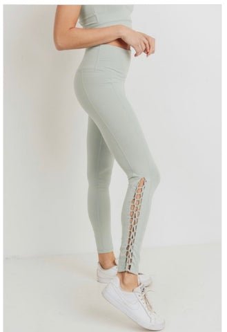 Braided Full Length Leggings