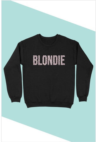 BLONDIE GRAPHIC SWEATSHIRT